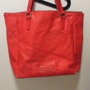 Marc by Marc Jacobs shock red tote